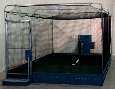 Polyball Pitching Machine and Cage System